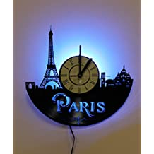 Paris Eiffel Tower Bedside Lamp , Night Light Function,Perfect Gift Idea for Men and Women