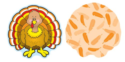 Carson Dellosa Turkey Cut-Outs