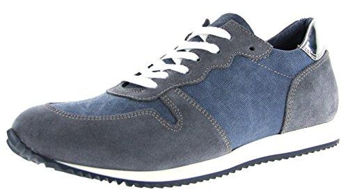 Para Mujer Piel Azul Zapatos De Cordones Nicolabenson wCPIxSXfqX