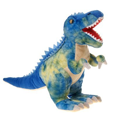 Fiesta Toys Blue T-Rex Tyrannosaurus Rex Dinosaur Plush Stuffed Animal Toy - 19 inch]()
