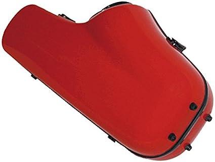 Ortola FTS-01 - Estuche fiber glass saxo tenor, color rojo: Amazon.es: Instrumentos musicales