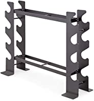 Marcy Compact Dumbbell Rack Free Weight Stand for Home Gym DBR-56, Black, 20.50 x 8.50 x 27.00 inches