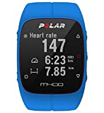 M400 Polar Best Deals - Polar Men's M400 90057184 Blue Silicone Quartz Watch