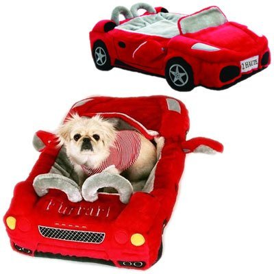 Ferrari Furarri Red Car Dog Bed, best christmas presents for kids