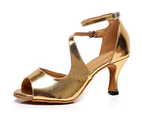 Minitoo Damen Tanzschuhe Gold Gold Tanzschuhe Damen Minitoo nB0EHp7wq