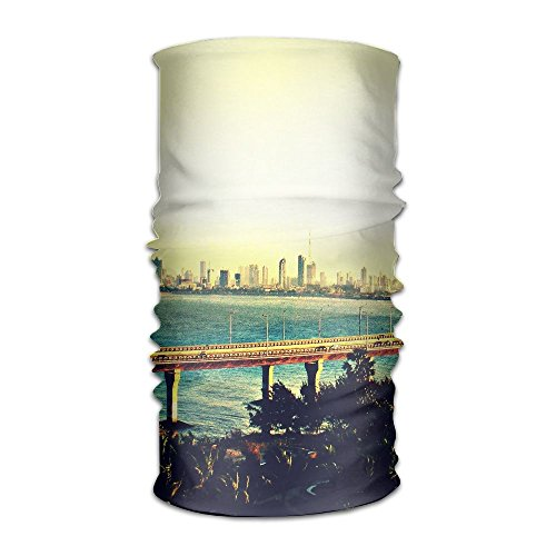 Owen Pullman Multifunctional Headwear Sea Crossing Bridge Head Wrap Elastic Turban Sport Headband Outdoor -