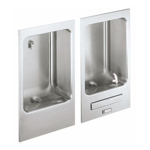 Fully Recessed Water Fountain, Stainless Steel, Wall Hung, EDFBC212C
