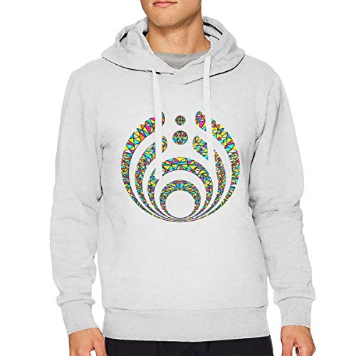 Mr.Technician Bassnectar Warmth Mens Hoodie Sweatshirt White]()