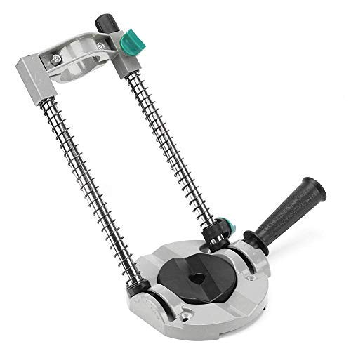 ROY-ROJAS Multi-Angle Drill Guide Attachment,Adjustable Angle Drill Stand up to 45 Degree, Portable Drill Press