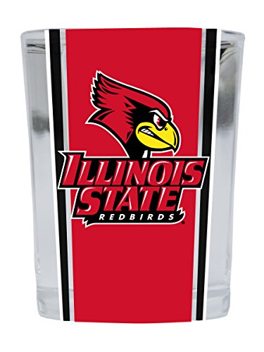 (Illinois State Redbirds Square Shot Glass)