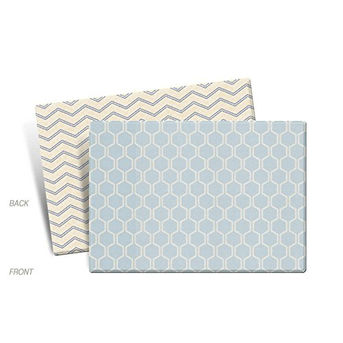 Parklon Play Mat Blue Laum Baby Playmat Living Room Mat Rug Double Sided Design (Medium) by Parklon