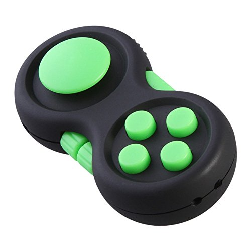 Fidget Cube Hand Schaft Finger Fidget Toys Anti-Anxiety Stress Relief f/ür Kinder und Erwachsene Hmjunboys Fidget Pad Gr/ün
