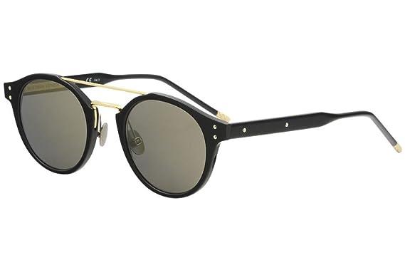 d3eb6df5693bf Sunglasses Bottega Veneta BV 0078 S- 002 BLACK   BRONZE at Amazon Men s  Clothing store