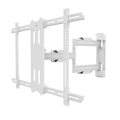 Kanto PS350W Full Motion Mount for 37-inch to 60-inch TVs - White
