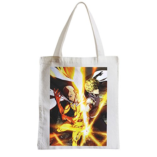 Grand Sac Shopping Plage Etudiant one punch man saitama genos manga