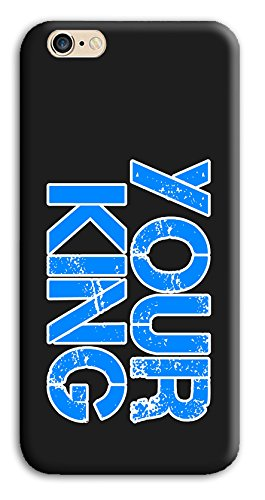 Mixroom - Cover Custodia Case In TPU Silicone Morbida Per Apple Iphone 6 6s PLUS Z431 Your King