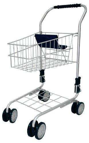 Bayer Design 7500000 - Einkaufswagen ohne Inhalt, silber