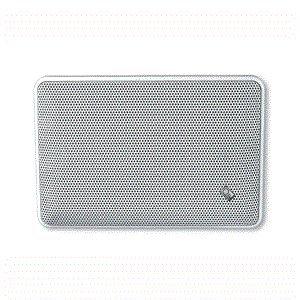9''x5'' Rectangular Flush-Mount Platinum Marine Speakers (Pair) (Poly Planar Dual Speaker)