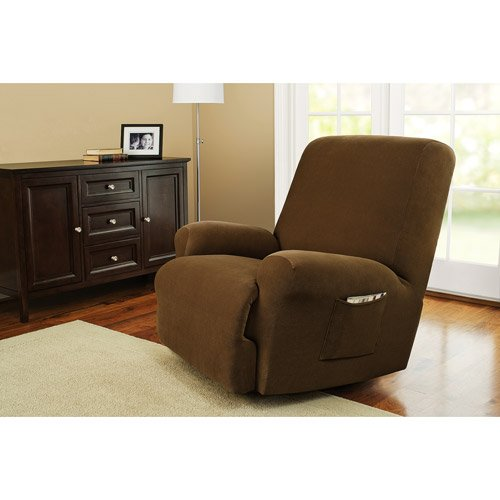 Amazoncom Better Homes and Gardens One Piece Recliner Slipcover