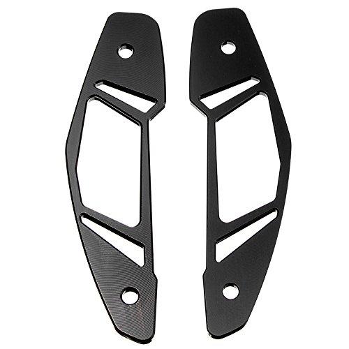 CoCocina Cnc Air Intake Inlet Guard Cover Protector For Yamaha Mt-09 Fz-09 2013-2016 - Black