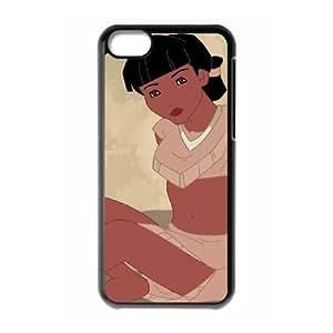 iPhone 5C Phone Case Black Pocahontas Nakoma SF1685649