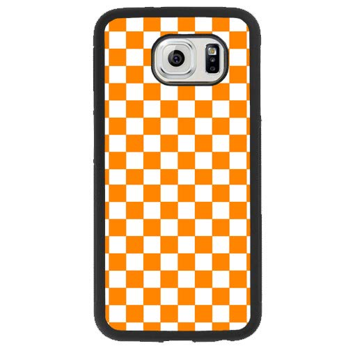 Tobe Yours Samsung Galaxy S7 Phone Case Phone Case Halloween Checkered Flag Geometric Protective Anti-Scratch Case Black - Samsung Galaxy S7]()