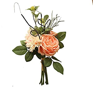 JIAHUADE Artificial Simulation Dahlias Peony Bouquets Home Decoration Wedding Ceremony Holding Flowers Road Guide Flowers 6