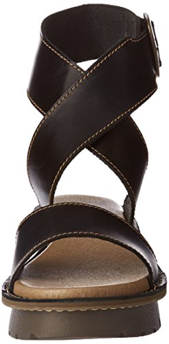 Fly London Dame Kiba465fly Sandalen Sort (sort 000) 593aXqKrm