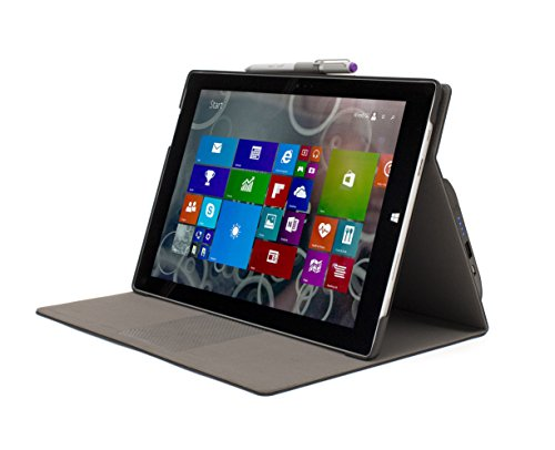 M-Edge International Surface 3 Sneak Power Charging Folio Case (MS3-SKP-LB-B) by M-Edge International (Image #1)