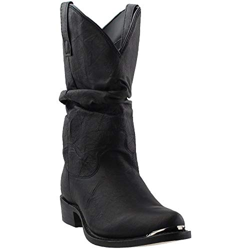 Dingo Men's Slouch Boot,Black,11 W