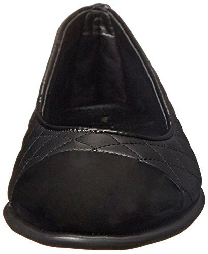 Women's Merlot Flexx Patent Rise A Flat Black Smile Ballet The Cashmere 45Ufqx7wx