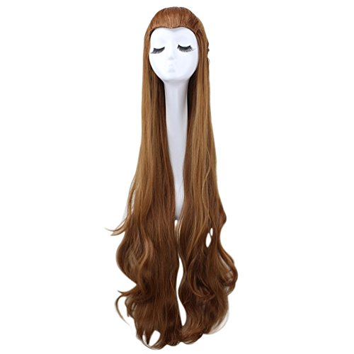 Tauriel Elf Costumes (Elf Tauriel Cosplay Wigs the Hobbit/the Lord of the Rings Long Braid Wig Brown)