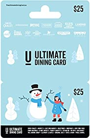 Ultimate Dining Card Holiday Gift Card