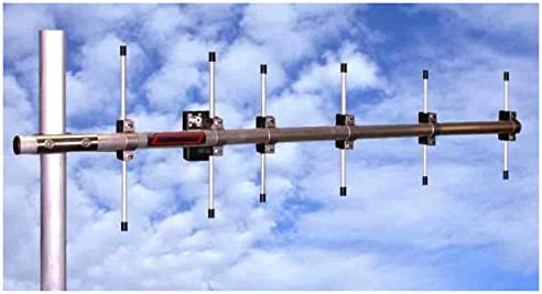 Yagi antena, 6 elementos, banda 432 MHz 70 cm, 0,8 m 10,7 ...