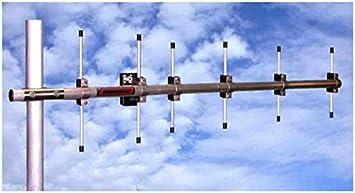 Antena yagi 10 Elementos Banda 70 cm 432 MHz Boom 1,4 m ...