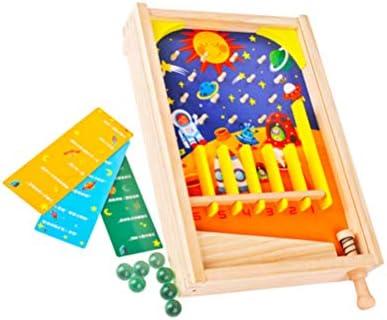 Toyvian Mini Juegos de Pinball para niños Juguete Interactivo Divertido para Varias Personas Juguete Educativo para niños Juguetes de Mesa de Pinball para niños: Amazon.es: Hogar
