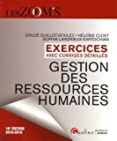 Gestion des ressources humaines : Exercices avec corrigés detaillés