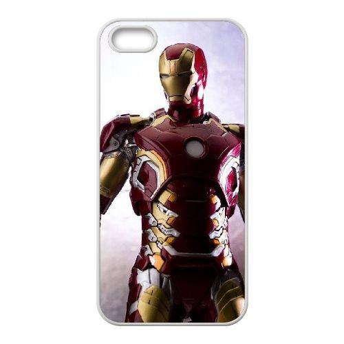 Avengers Age Of Ultron coque iPhone 5 5S Housse Blanc téléphone portable couverture de cas coque EBDOBCKCO12378