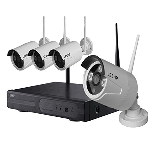 LESHP Wireless Security Surveillance Systems