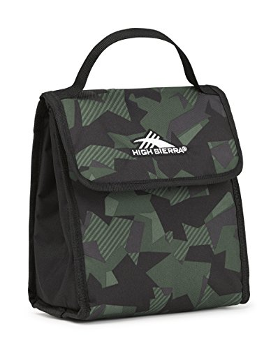 (High Sierra Classic Lunch Kit, Shattered Camo/Black/Olive)