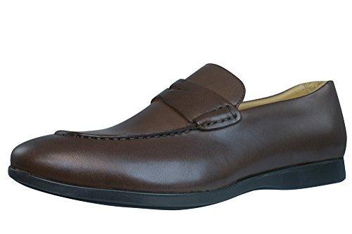 Sebago Teague Penny Hombres Zapatos de cuero / holgazanes marr�n