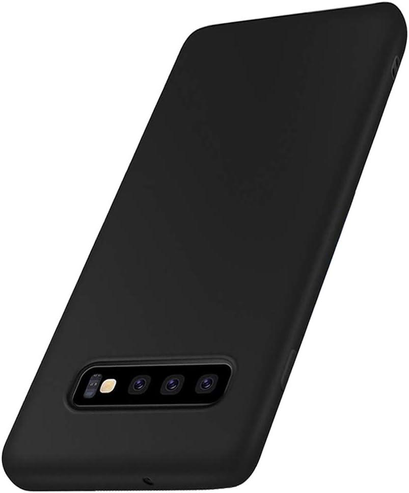 Compatible para Samsung Galaxy S10 Plus Funda, Líquido Silicona Caucho A Prueba de Golpes ProtecciónCarcasa contra Caídas con Suave de Forro de Tela de Microfibra Caso para Samsung Galaxy S10 Plus