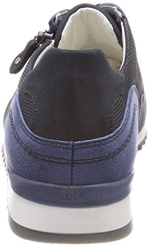 Oxford Waldl Cordones Mujer de Bufa para Zapatos Azul ufer Matura Nubuk Hurly Notte Notte Royal 194 Matura Xnx0Xr