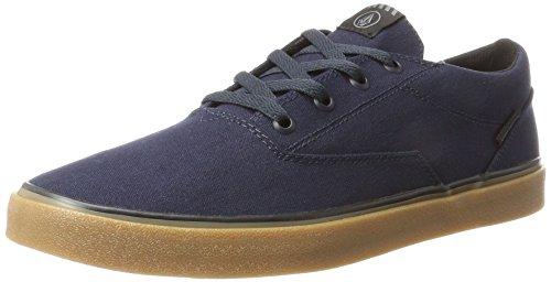 Volcom Mens Draw Lo Fashion Shoe Sneaker Navy