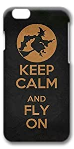 iPhone 6 Case, Keep Calm Halloween Customize Protective Slim Hard 3D Case Cover for New Apple iPhone 6(4.7 inches)