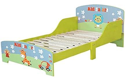 Struttura per letto singolo in legno a tema safari per bambini ...
