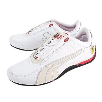 Puma Puma Ferrari Drift Cat 4 SF Carbon Men Trainers   Sneakers White Rosso  Corsa US 4  Amazon.co.uk  Shoes   Bags b7065ea05