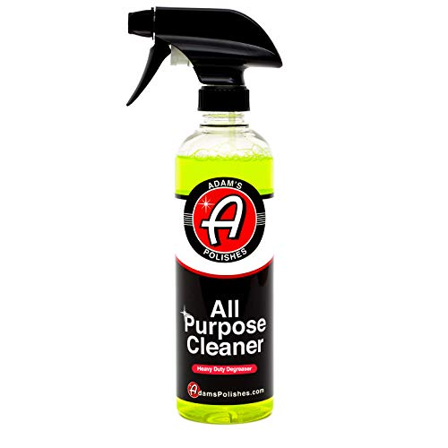 Adam's Heavy Duty All Purpose Cleaner & Degreaser - Powerful, Professional Strength Formula That Easily Cuts Heavy Grease & Tar, Tire Cleaner, Engine Bay Cleaner, and More (16 - Cleaner Engine Best