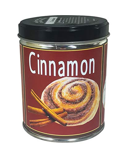Cinnamon Scented Candle - Our Own Candle Company Cinnamon Scented Candle in 13 Ounce Tin with a Cinnamon Stick Label