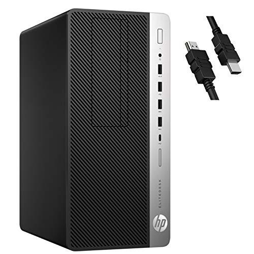 2020 Flagship HP EliteDesk 705 G4 Microtower Business Desktop AMD 4-core APU A10-9700 (Beat i3-7020U) 32GB RAM 1TB SSD…